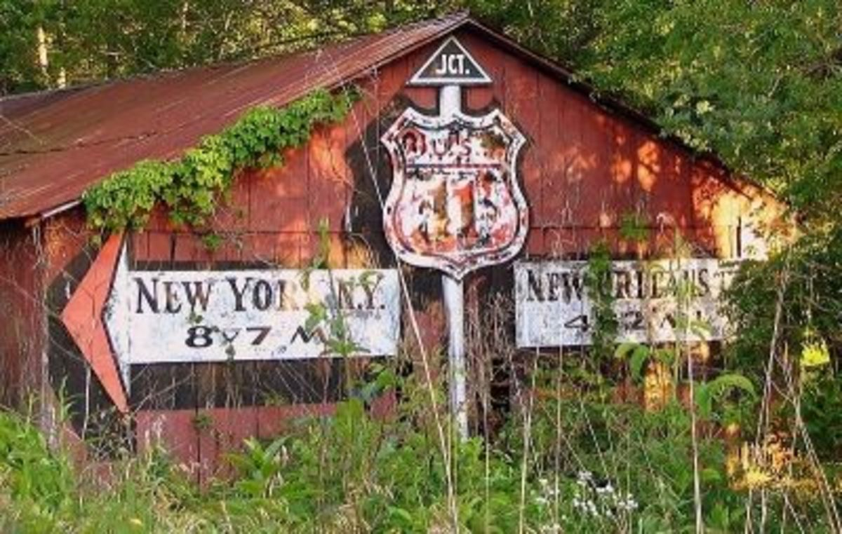 Route 11 Barn Sign