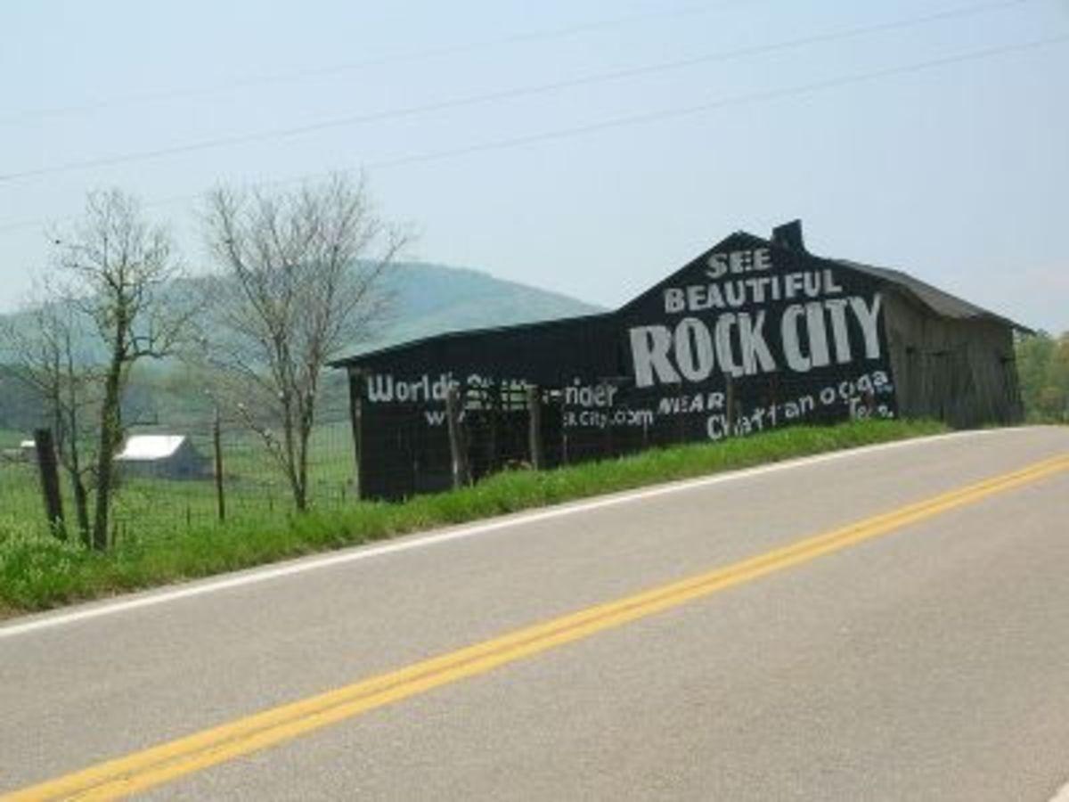 Rock City SIgn on Barn