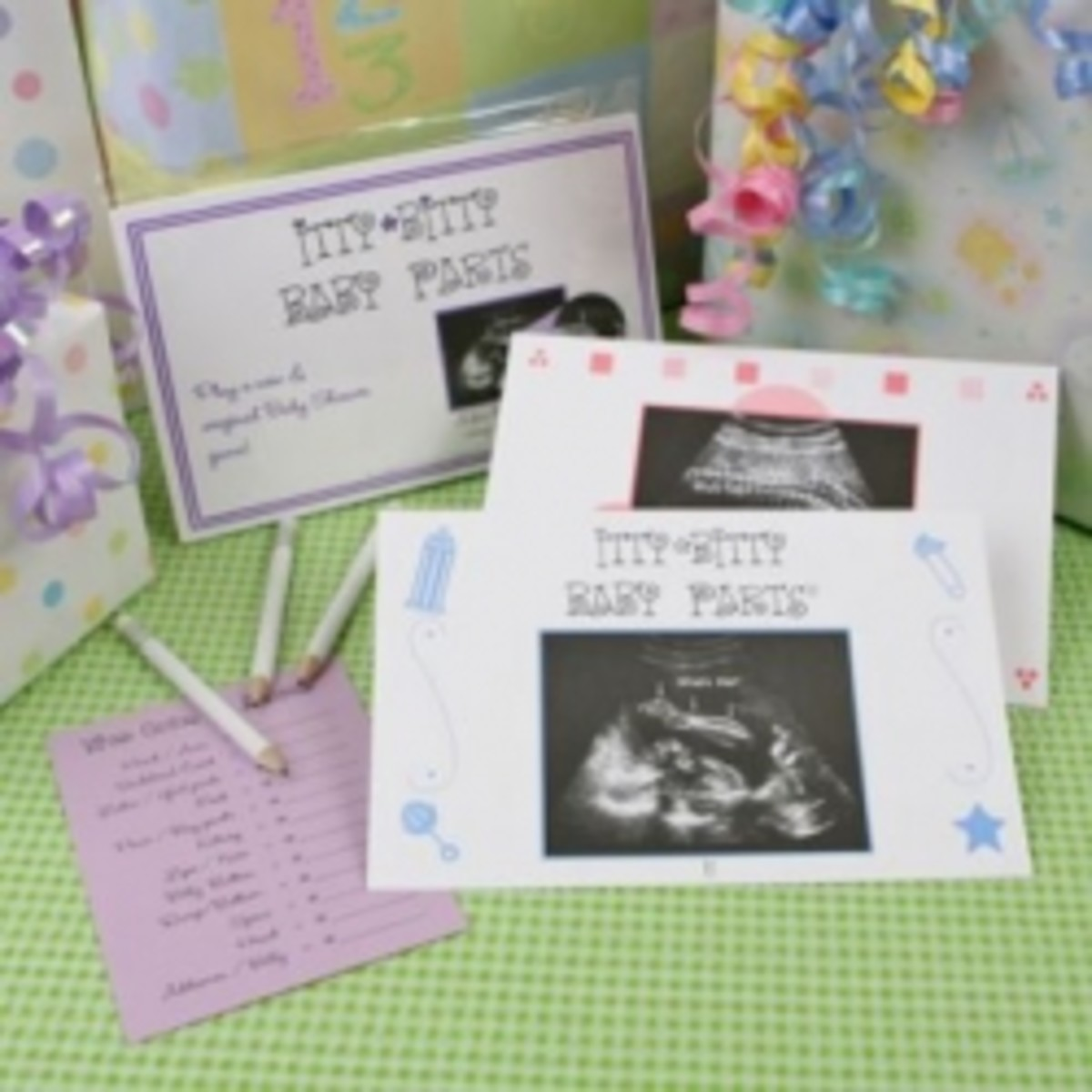 Bitty Baby Parts baby shower game