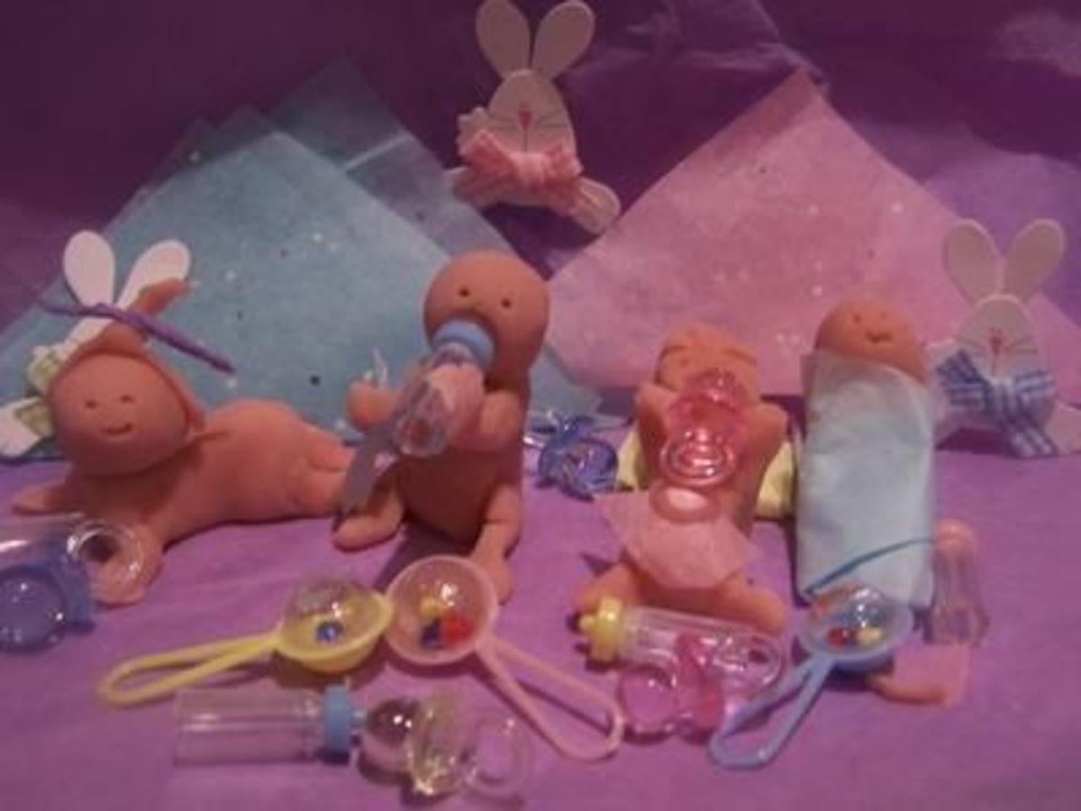 Makin' Dough Babies Baby Shower Game - see Below