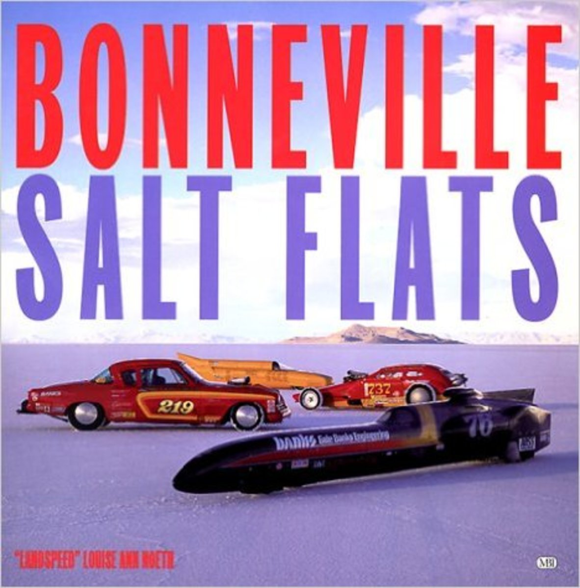 Bonneville Salt Flats by Louise Ann Noeth