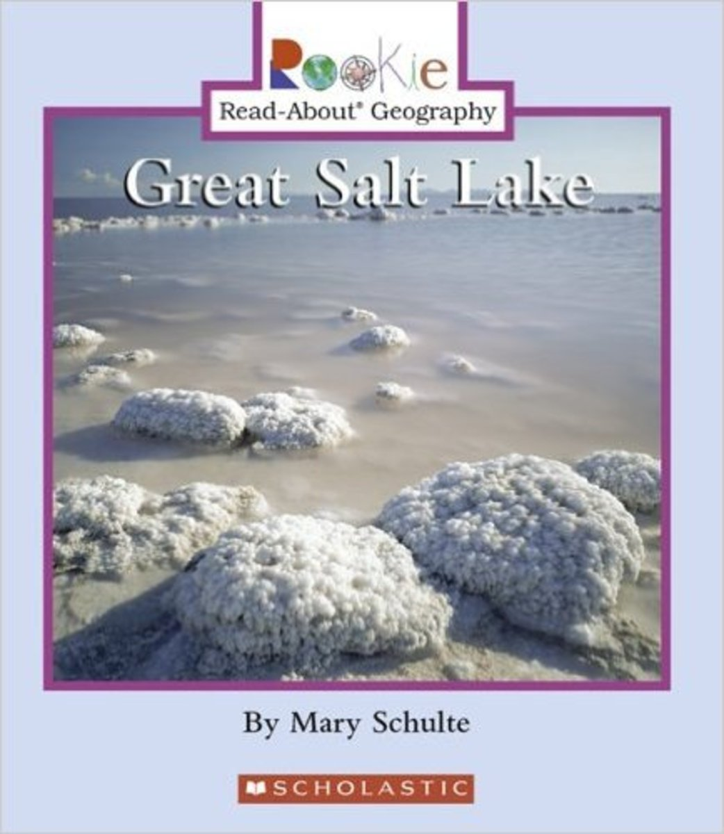 Great Salt Lake (Rookie Read-About Geography) by Mary Schulte  - Images are from amazon.com