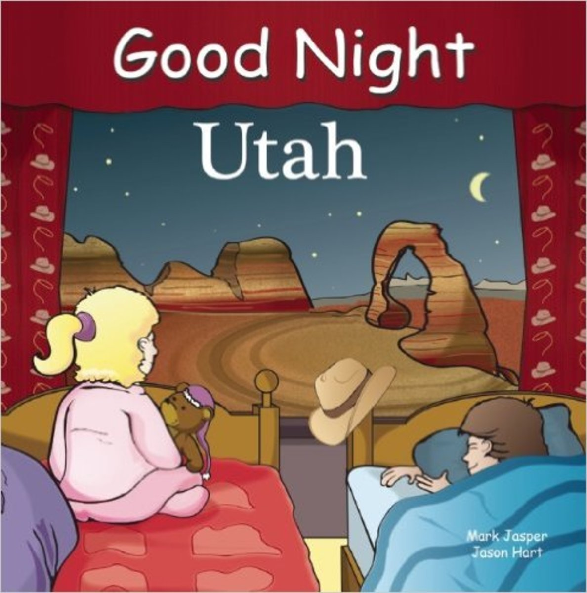Good Night Utah (Good Night Our World) Board book by Mark Jasper - Image is from amazon.com