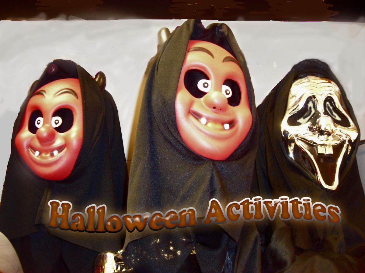 Halloween Activities And Quiz