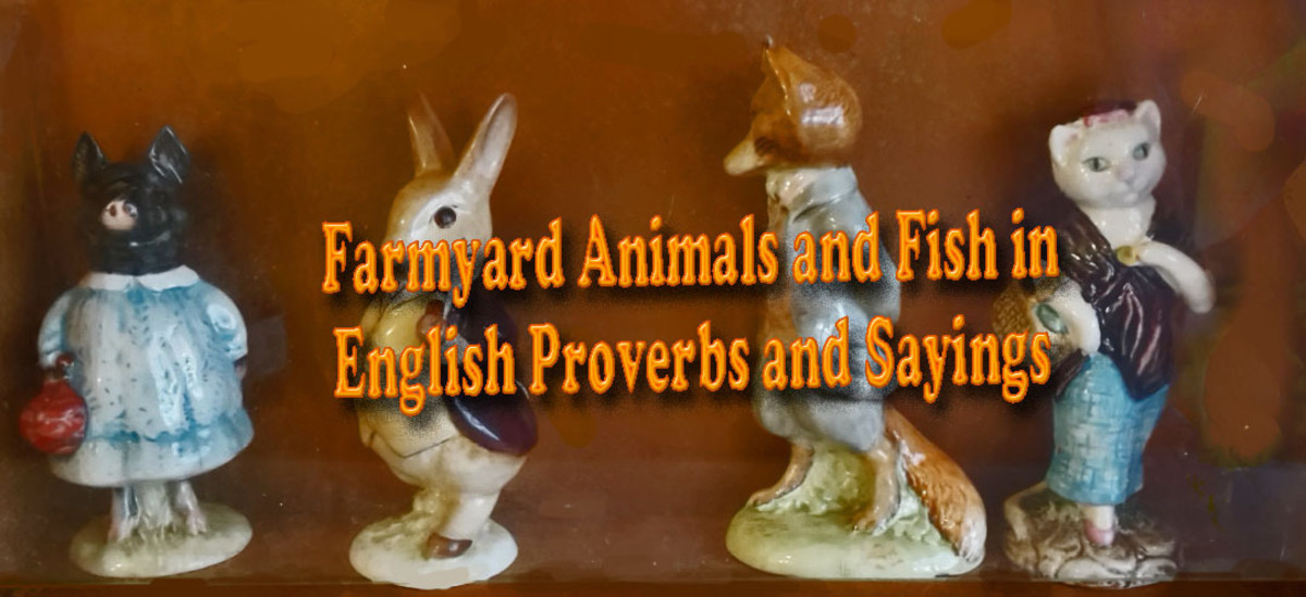 Farmyard Animals and Fish in English Proverbs and Sayings