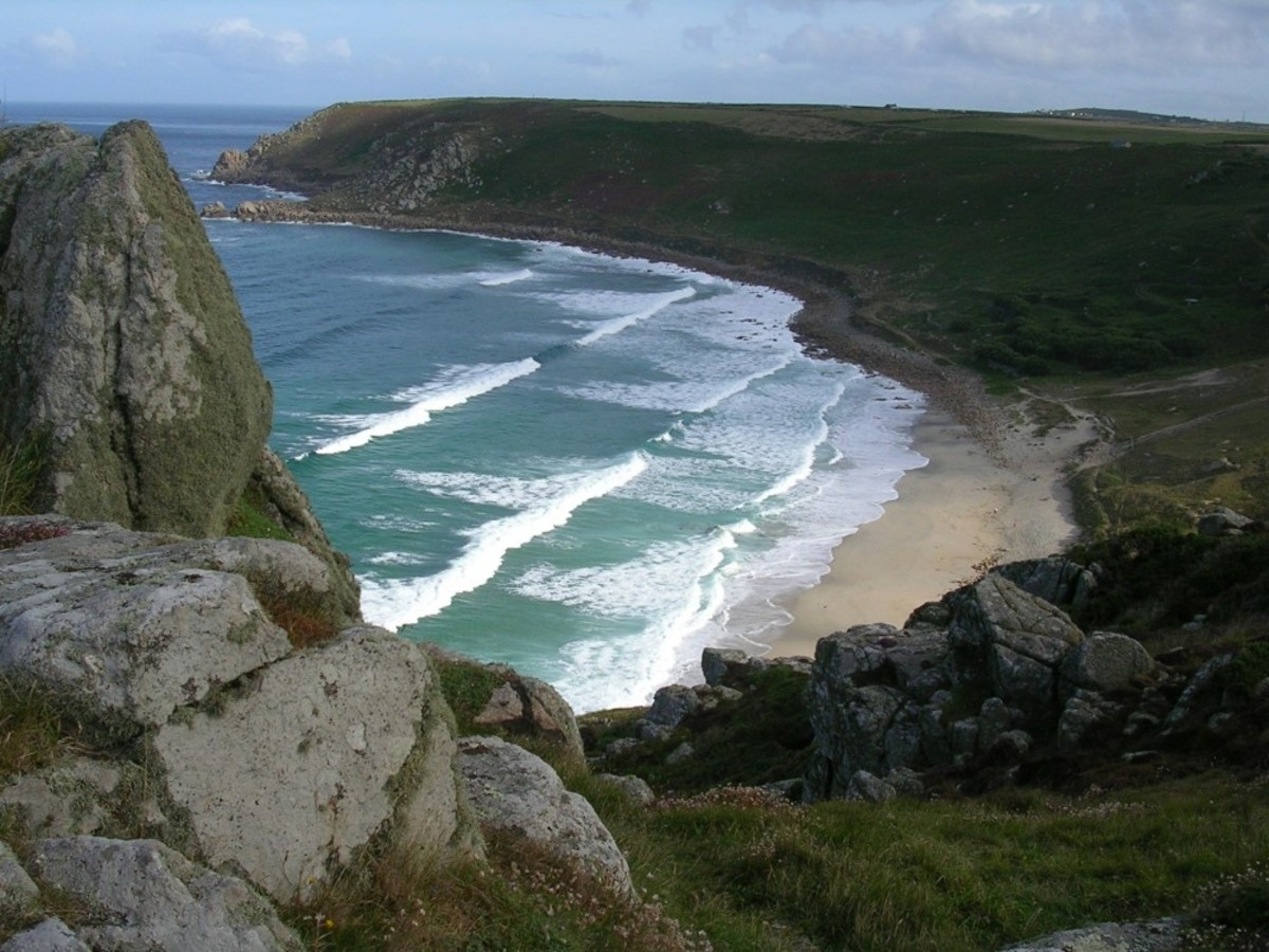 Gwenver Cove, near Sennen