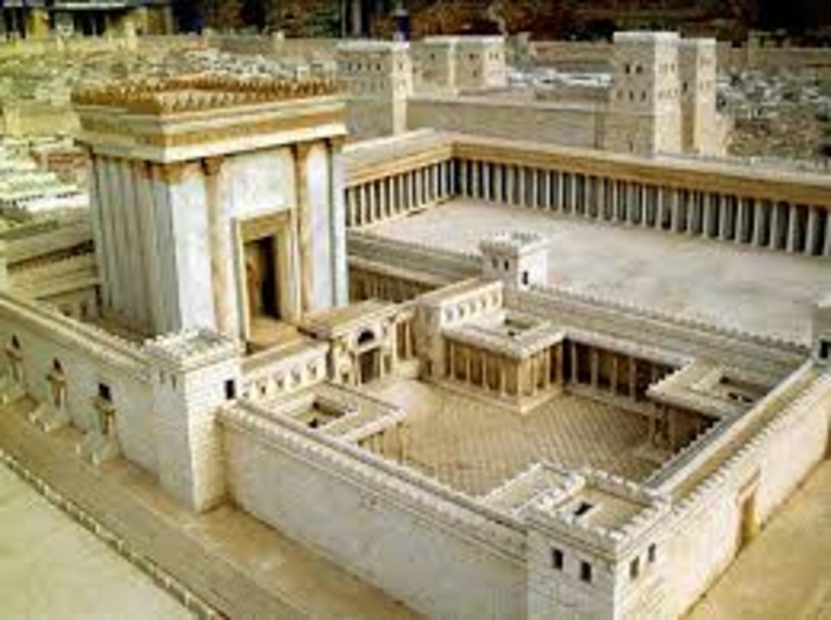 The Jerusalem temple would be the first most important religious place of worship in the entire world, since it is the temple that was built according to God's descriptions, it always comes up in all religions that derive from the Bible.