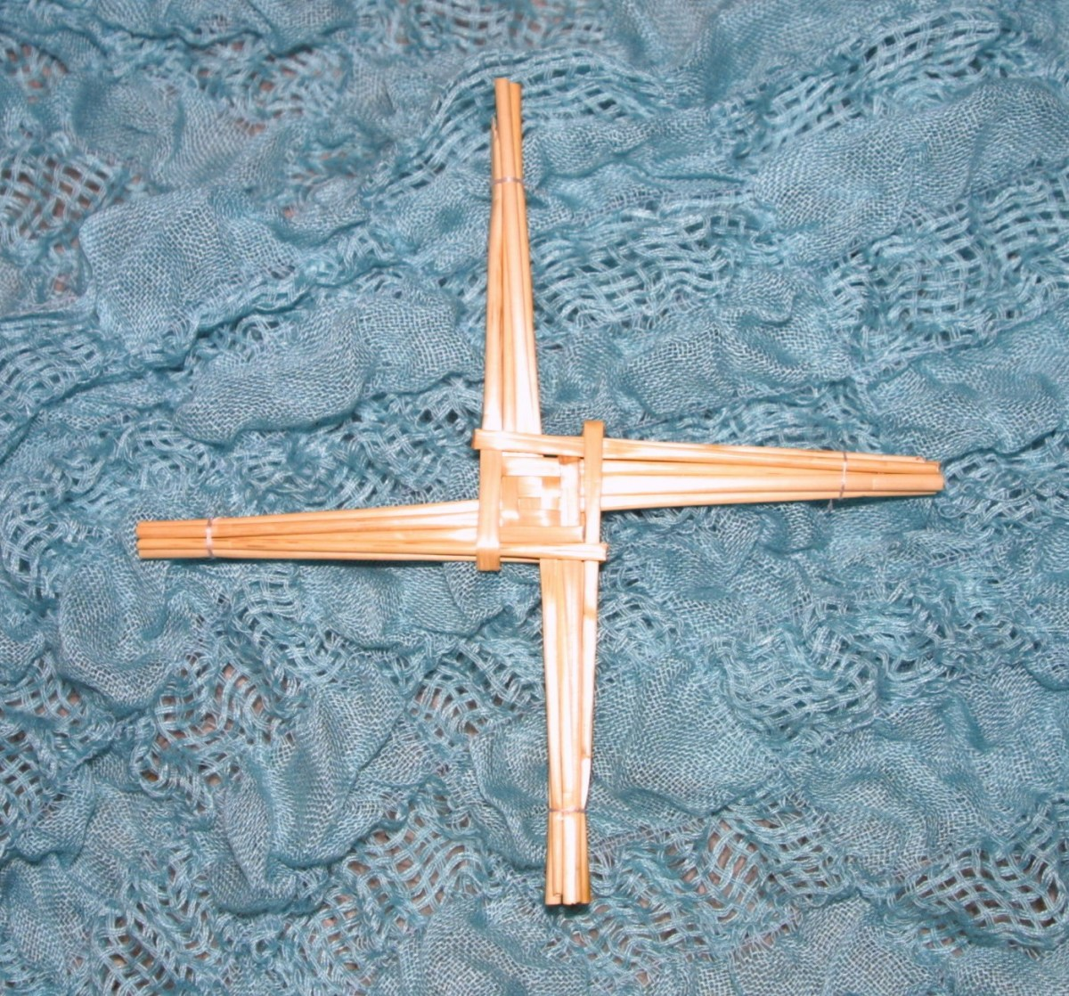 How to Make a St. Brigid's Cross