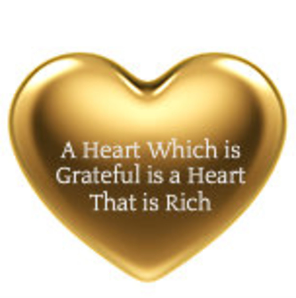 In the midst of a grateful heart, we find the peace that passes our human understanding.