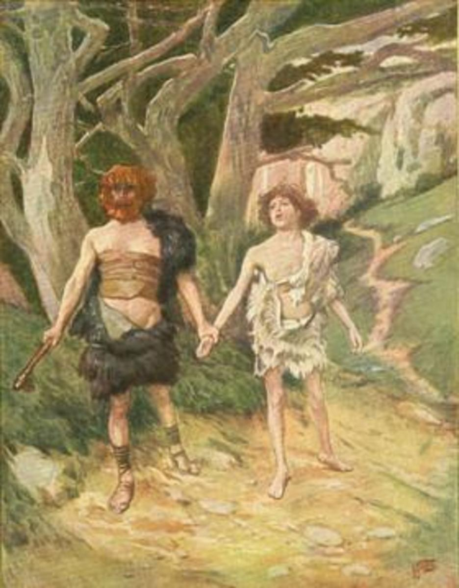 Cain and Abel by James Tissot