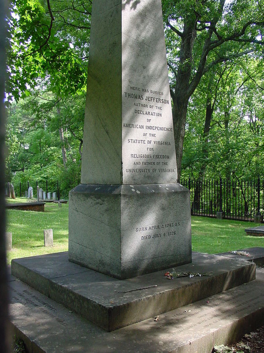 Thomas Jefferson's Gravesite