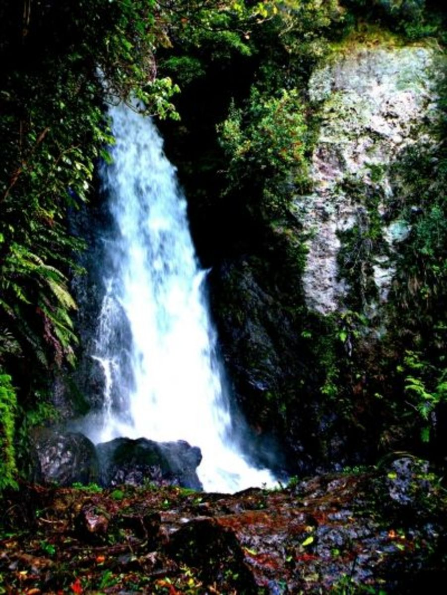 Another view of the gorgeous waterfall