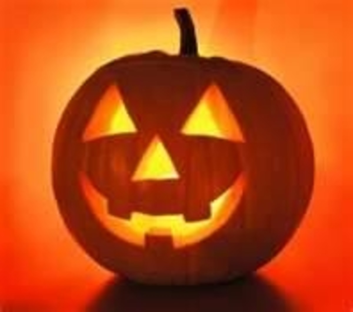 This is a classic jack-o-lantern everyone is familiar with. Photo was shared on Flickr.