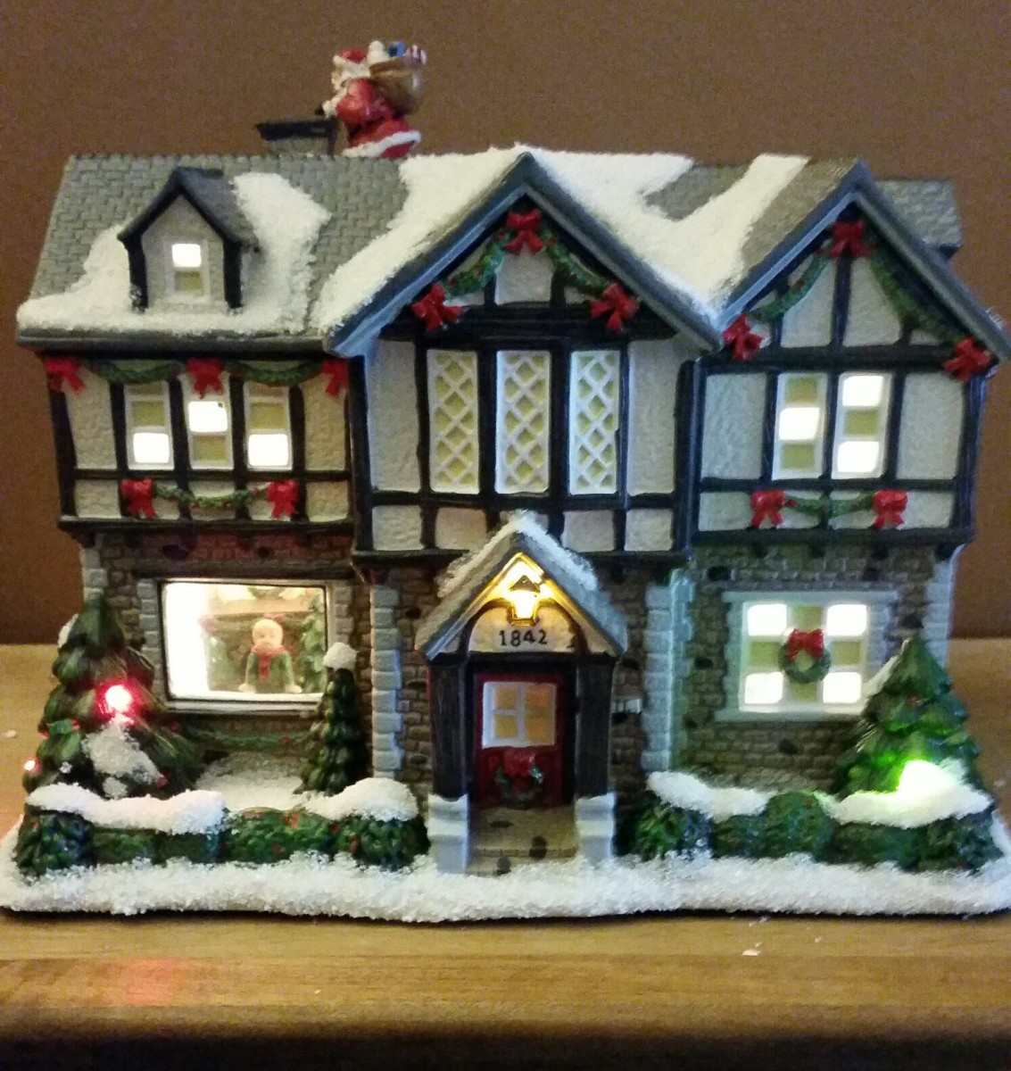 Christmas Victorian House