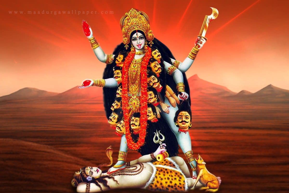 Hindu Goddess (Maa Kaali)