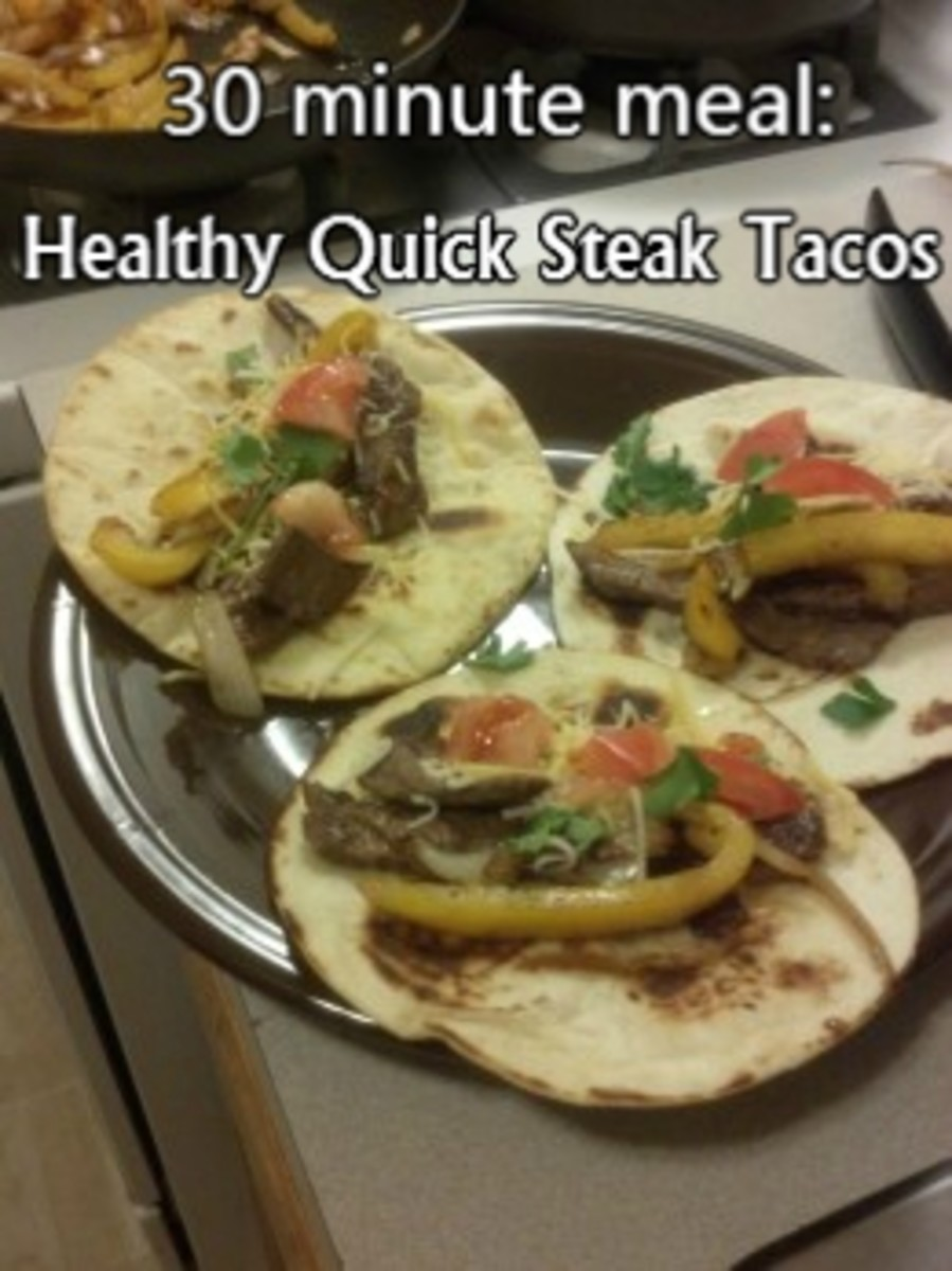 How to Make Quick and Healthy Steak Tacos