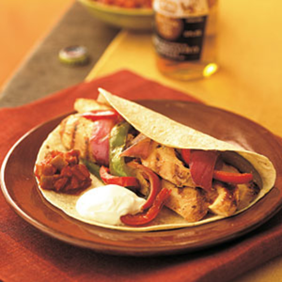 Quick Healthy Chicken Fajita Recipe