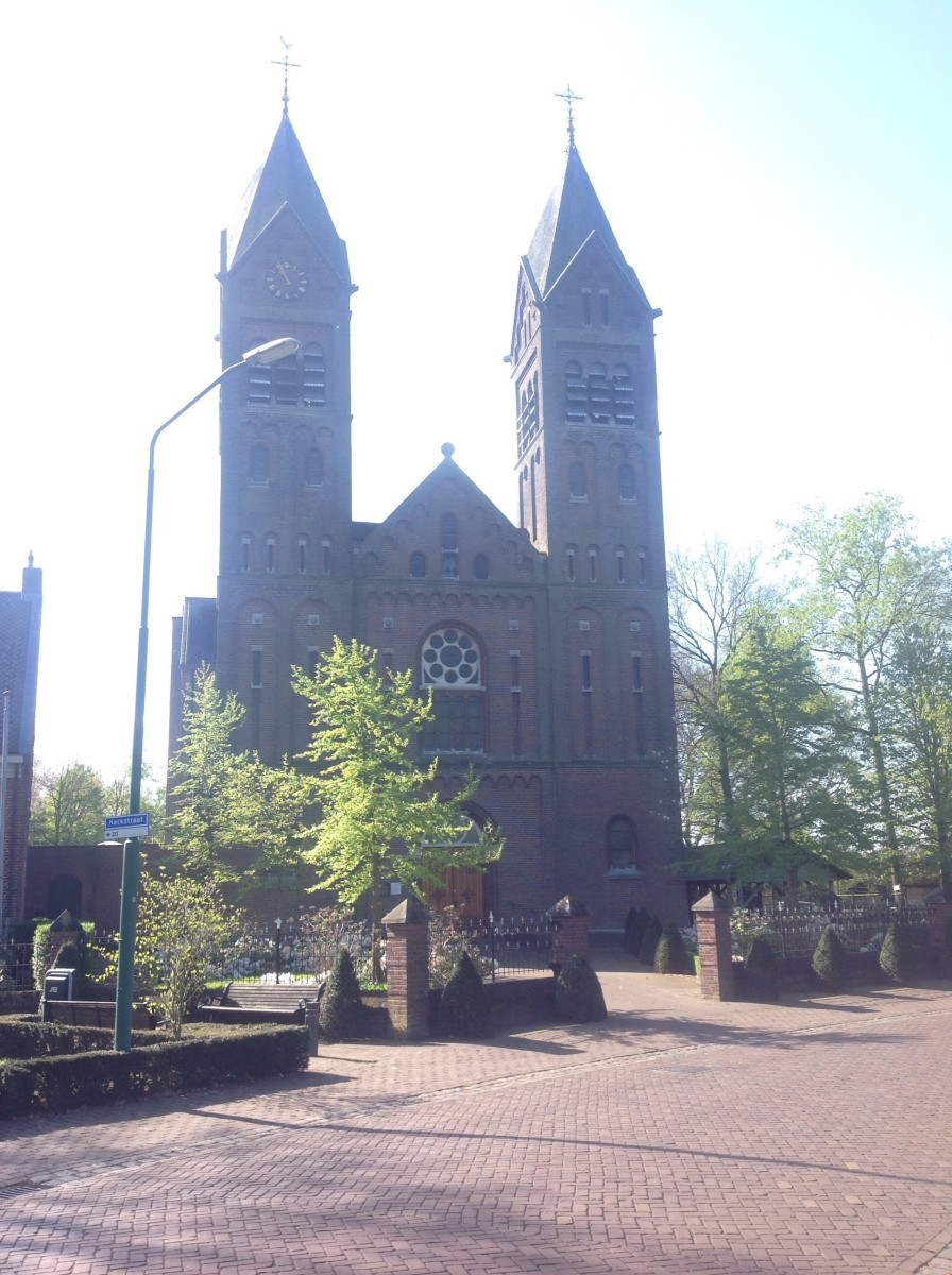 Church: Small Dutch Country Village