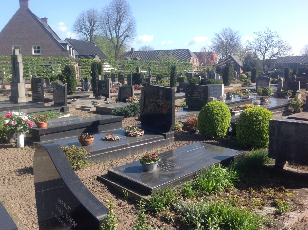 Cemetery: Small Dutch Country Village