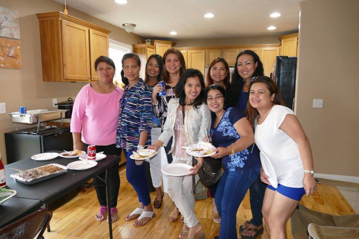All of these filipina ladies came here on K-1  visas.