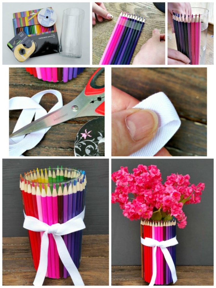 Our favorite fun crafts with colored pencils