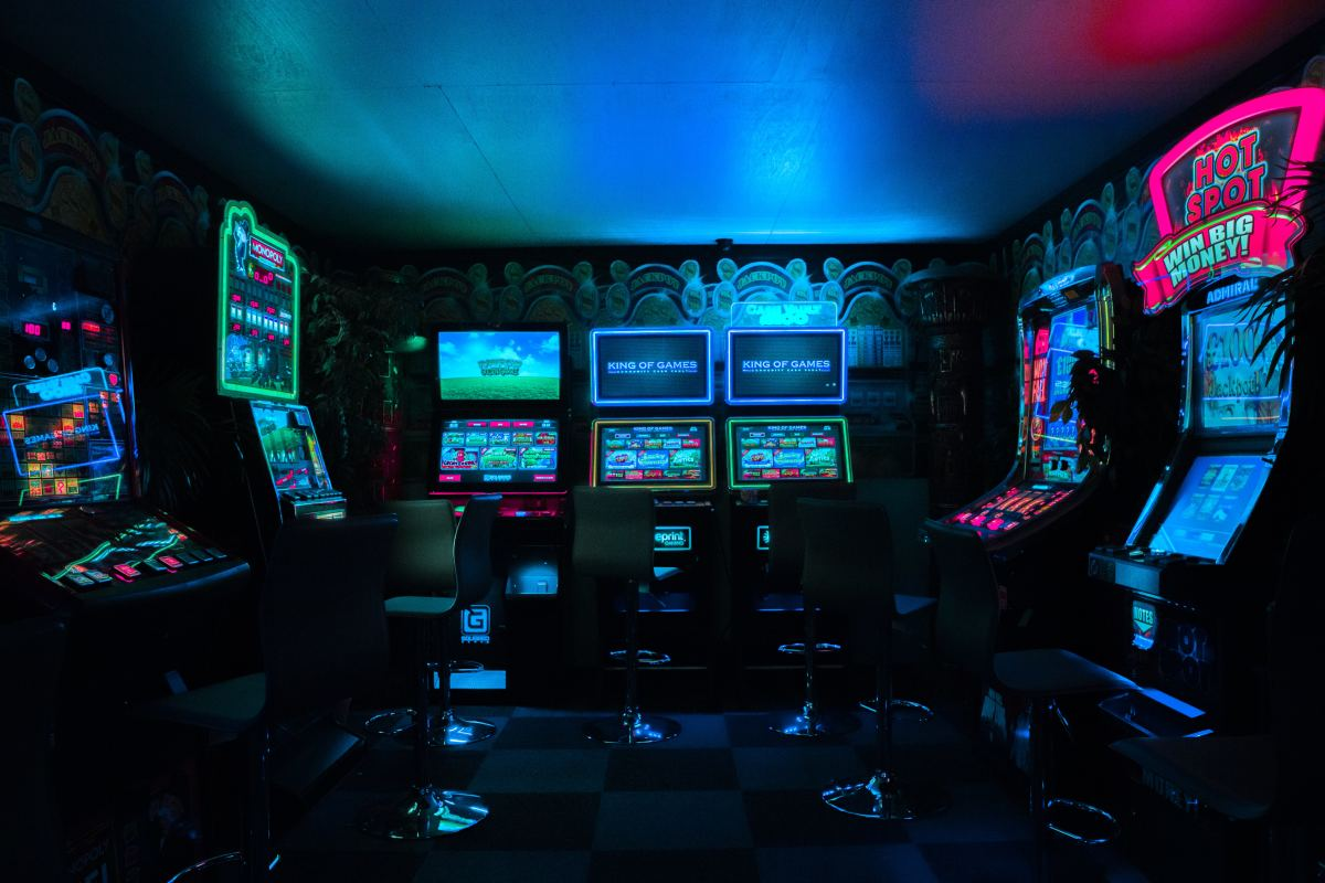 The original fighting games gained their popularity in neighborhood arcades.