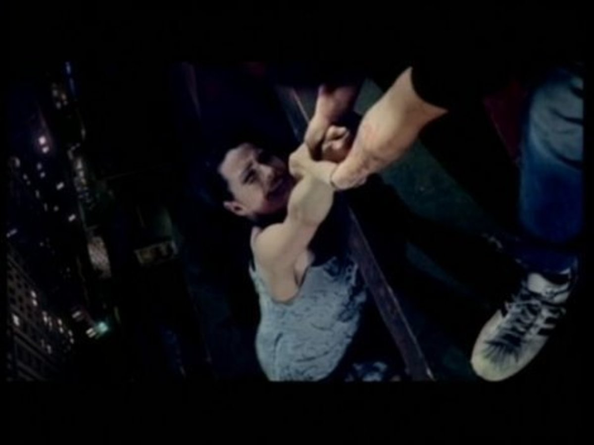 A screenshot from one of their music videos (Bring Me To Life).