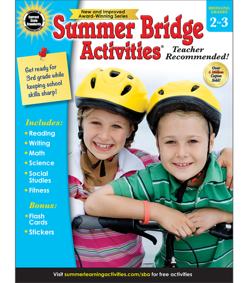 Six Reasons Why You Should Use Summer Bridge Activities With Your Kids