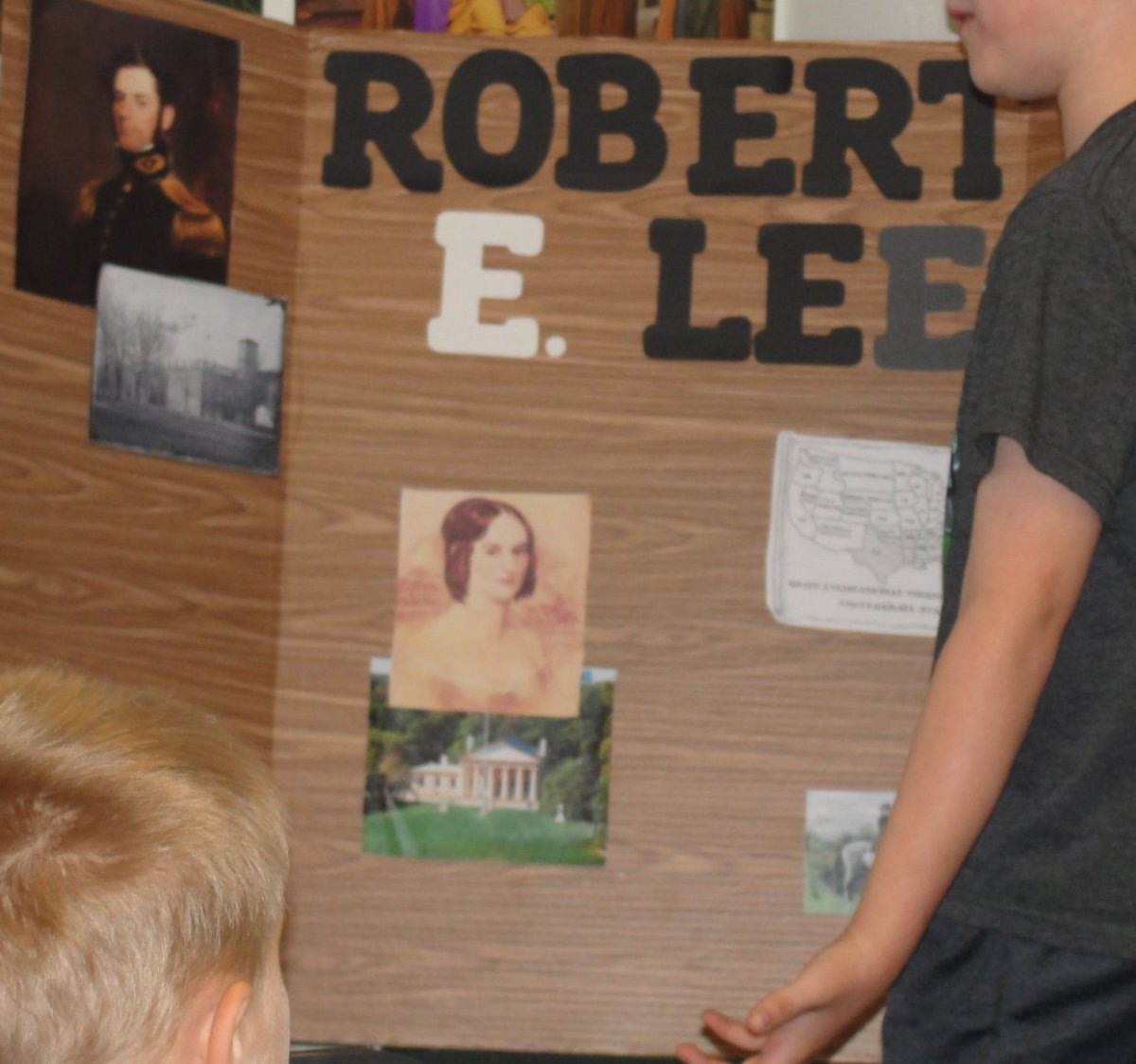 Student biography presentation on Robert E. Lee
