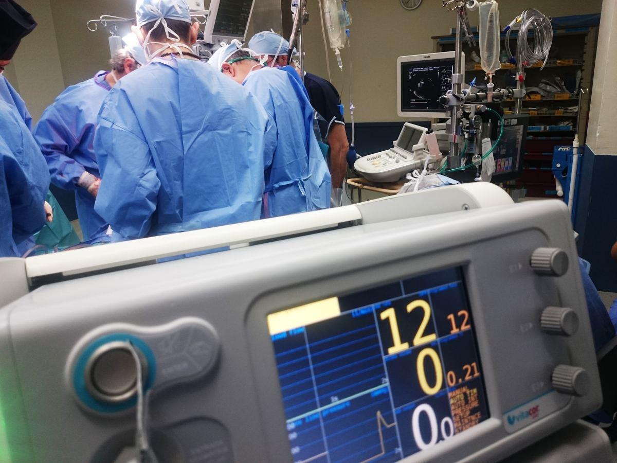Patient Undergoing Surgery (Photo by Natanael Melchor)