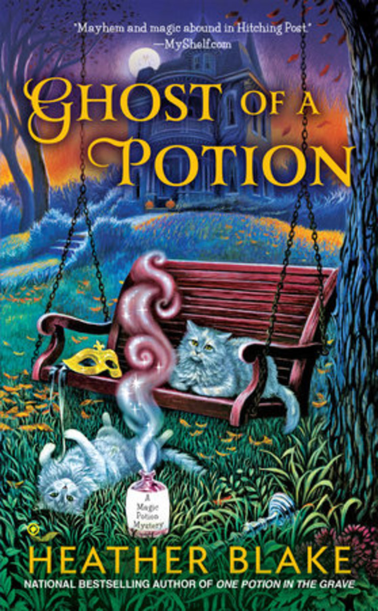 Book Review: Ghost of a Potion by Heather Blake