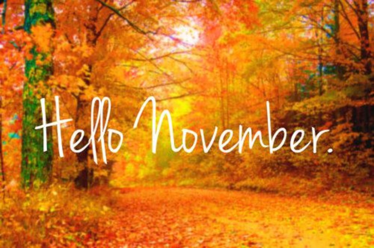 November: Interesting Things About the Month