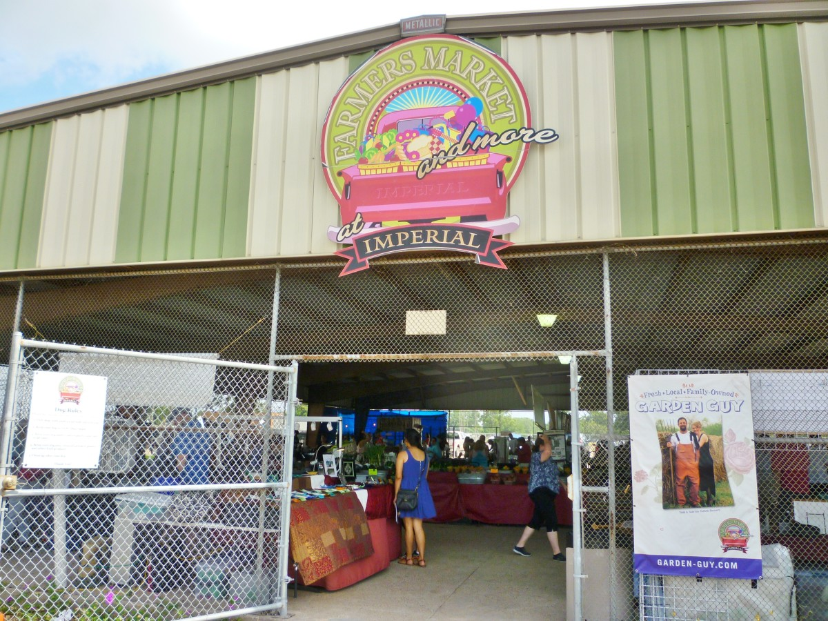 Farmer's Market at Imperial Sugar Land - permanent covered structure