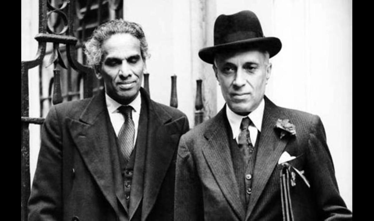 Nehru and Menon