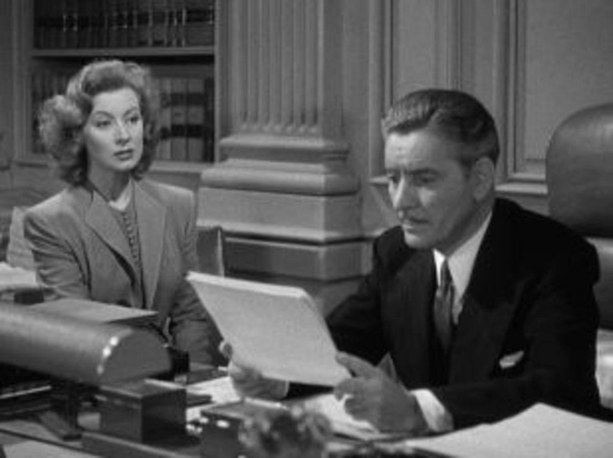 Charles hires Paula as Executive Secretary