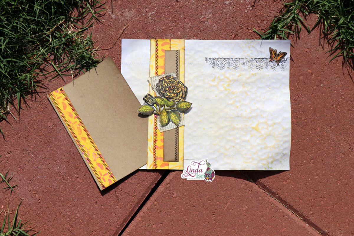 Belly bands are a decorative add on to any junk journal page. They can be placed vertical or horizontal.