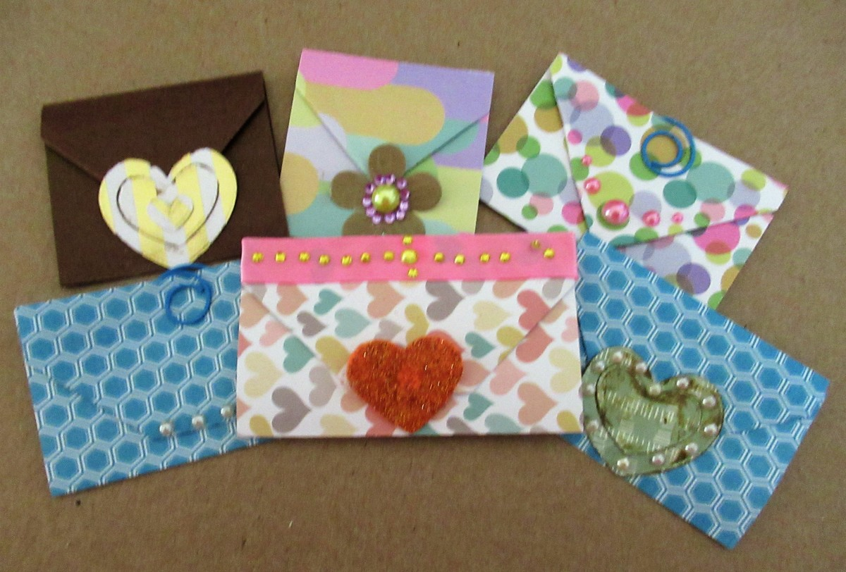 You can create a journal envelope with a few simple folds.