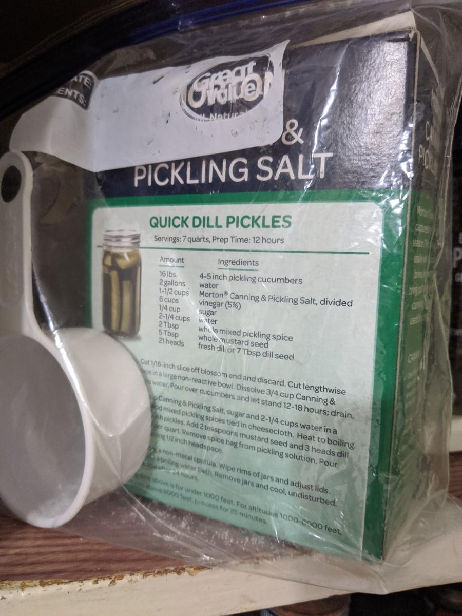 Canning salt