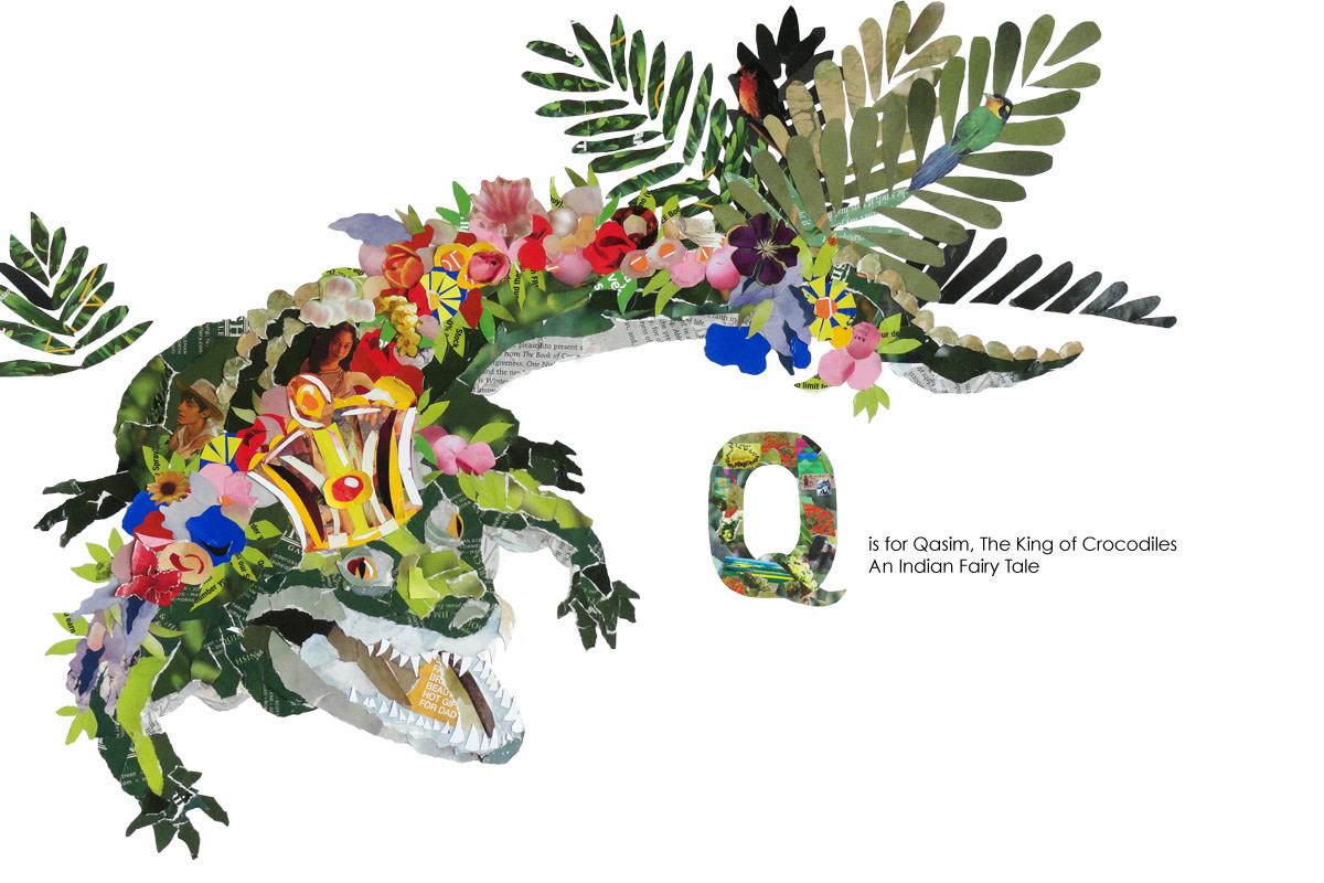 Qasim, King of the Crocodiles illustration