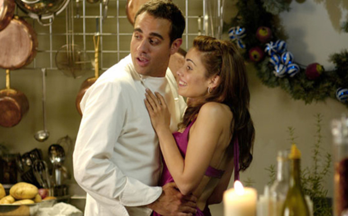Bobby Cannavale and Carly Pope in RECIPE FOR A PERFECT CHRISTMAS