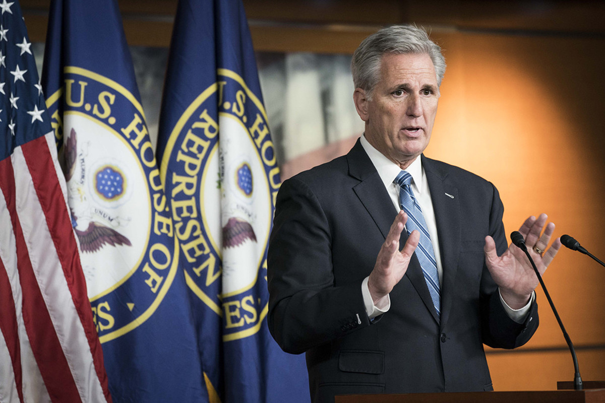 Republican House Minority Leader Kevin McCarthy has been gradually working to build support for a conservative climate change plan.
