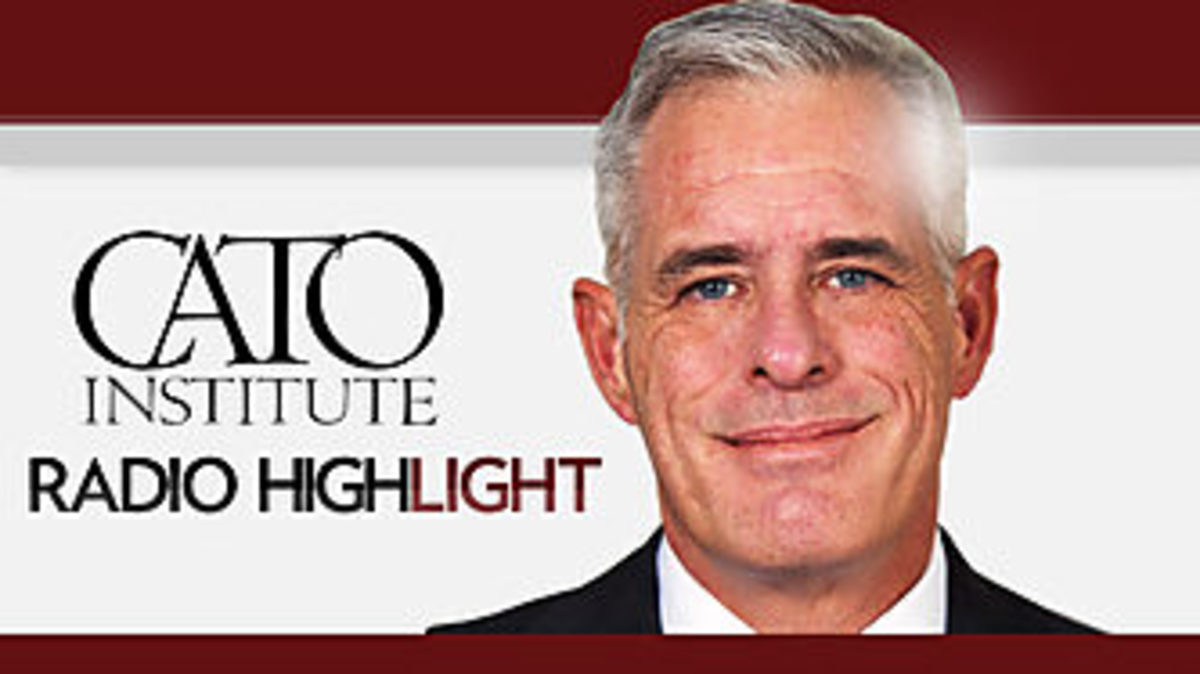 Jerry Taylor of the conservative-libertarian think Cato Institute