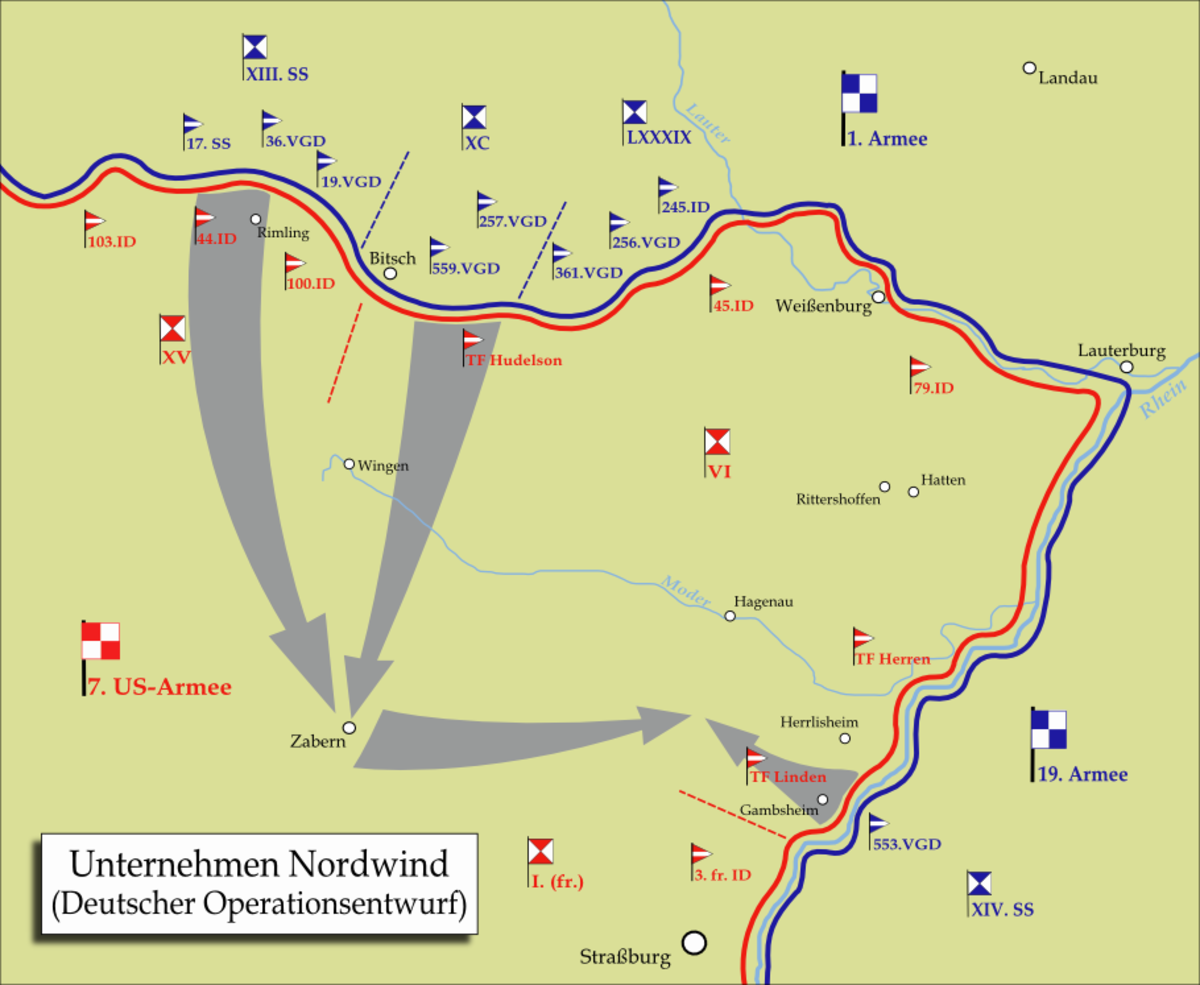 Battle of Nordwind: Two Wehrmacht Tanks Vs 21 Us Sherman Tanks