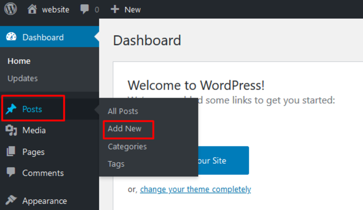 How Do I Upload an Article to WordPress?