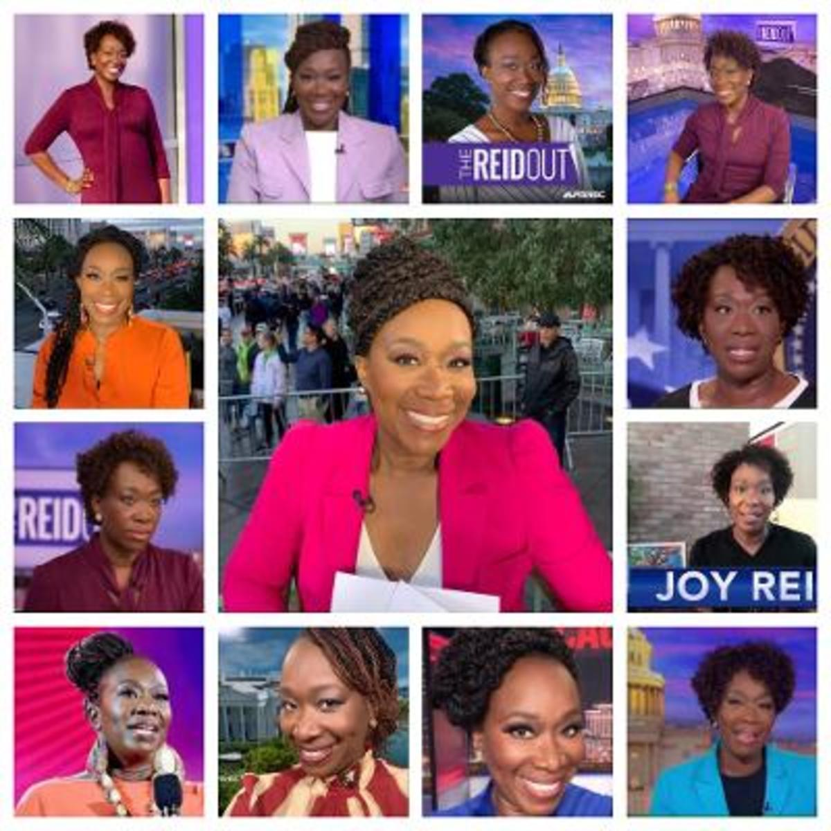 Joy Reid's Hairstyles The Way They Are Now