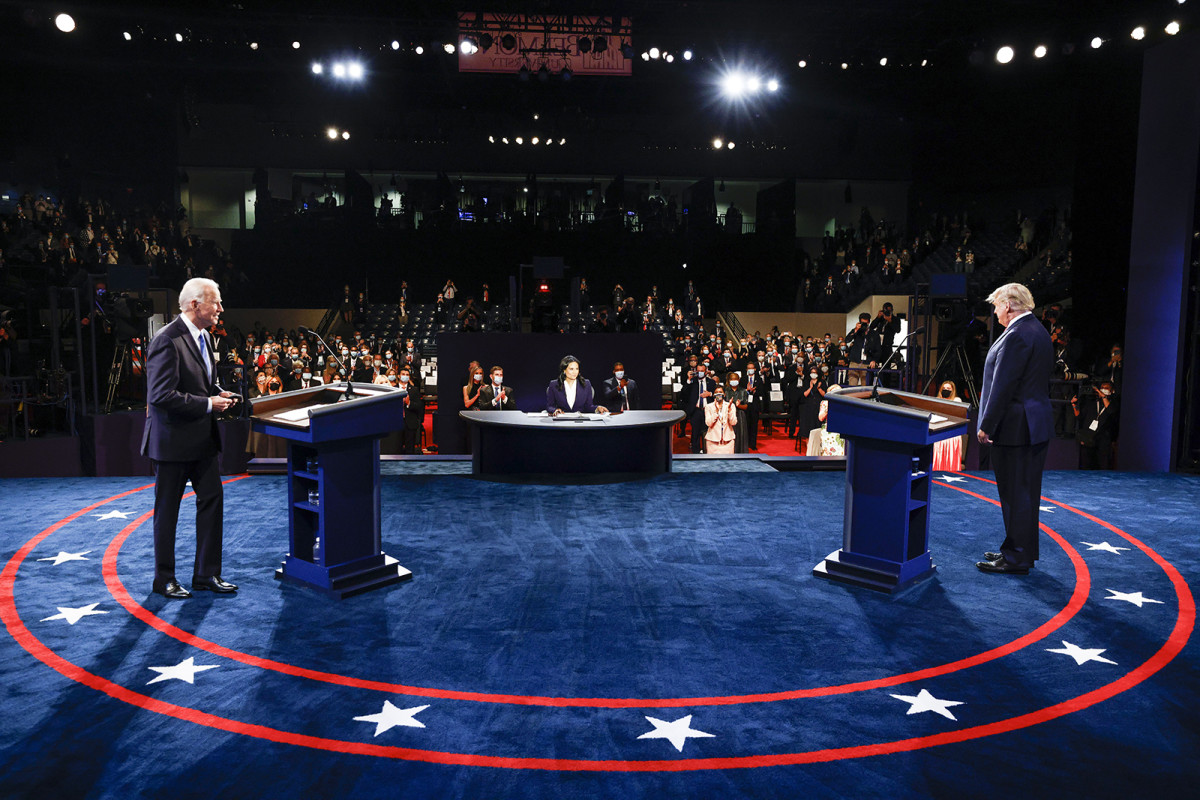 Joe Biden Showed up for the Debate, but He Didn't Show up for His Campaign