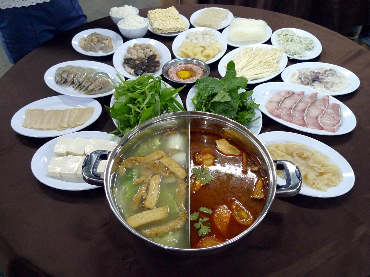 Traditional Steamboat (Hotpot) in Penang