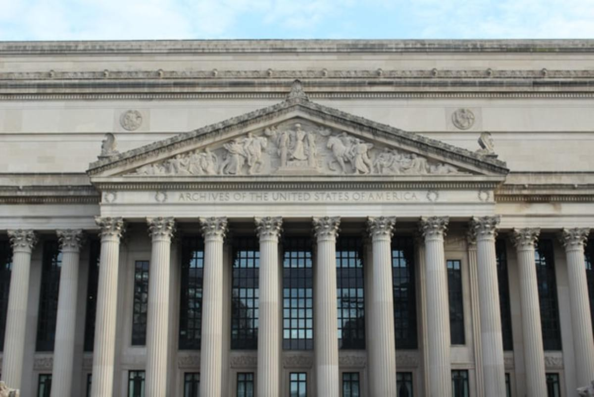 The U.S. Constitution is kept at the National Archives in Washington, D.C.