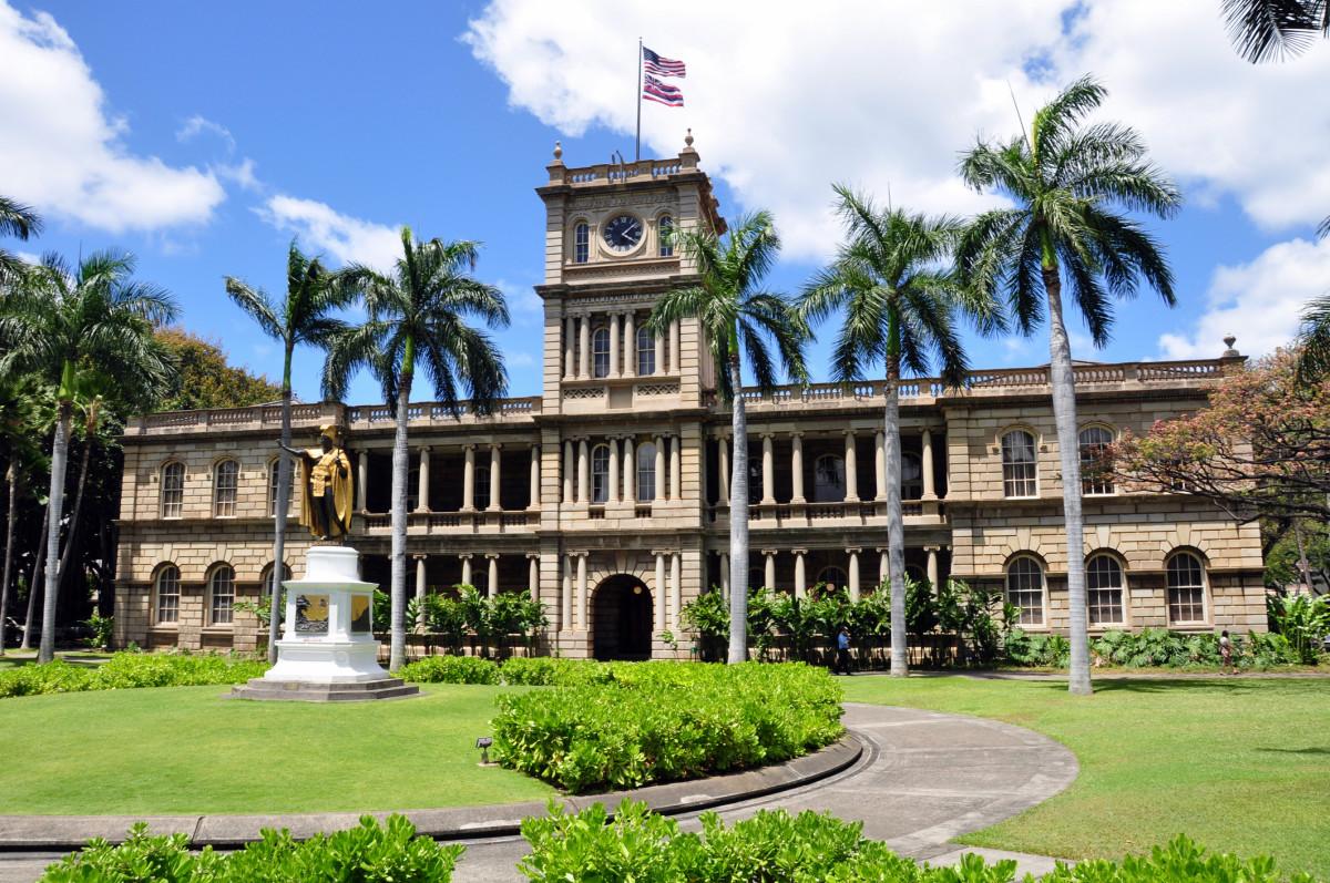 Iolani Palace, Honolulu, HI