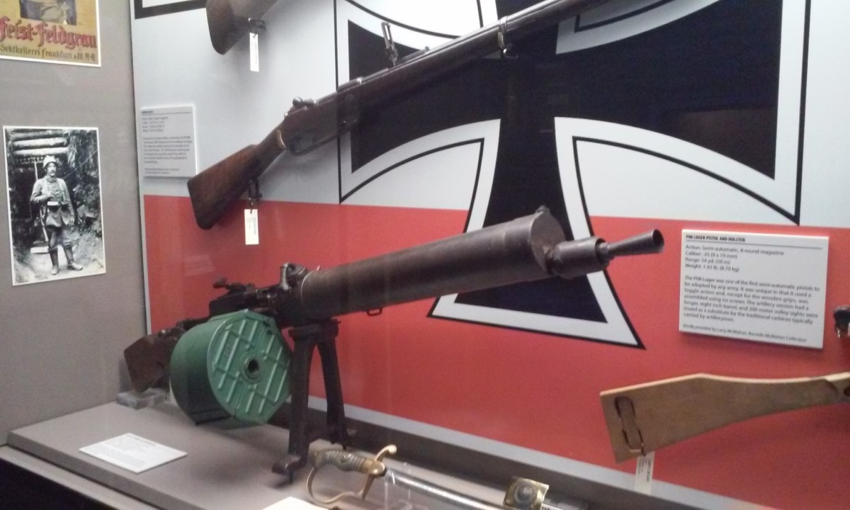 More exotic personal weapons, Mississippi Armed Forces Museum, Hattiesburg, MS